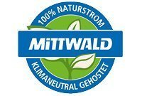 Logo Climate neutral hosted at Mittwald